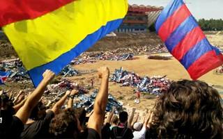 Bukareszt: Kibice na ruinie, czyli pożegnanie Ghencei