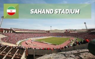 Nowy stadion: U stóp wulkanu w Tebrizie