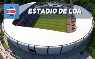Nowy projekt: Najlepszy stadion w Kostaryce?