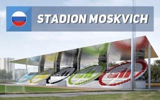 Nowy projekt: Stadion Moskwicz - tak bardzo olimpijski