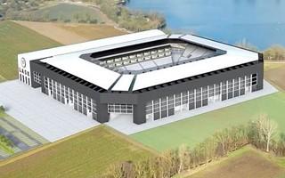 Austria: Stadion LASK idzie naprzód, choć wolno