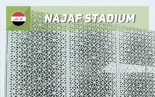 Nowy stadion: Misterna ozdoba Nadżafu