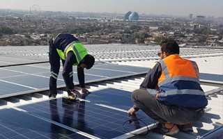 Bagdad: Pierwszy słoneczny stadion w Iraku