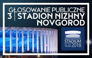 Stadium of the Year: Głosowanie Publiczne – 3. Stadion Nizhny Novgorod