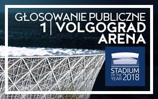 Stadium of the Year: Głosowanie Publiczne – ZWYCIĘZCA Volgograd Arena!