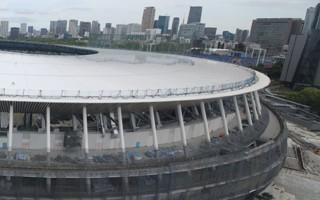 Tokio 2020: Dach Olimpijskiego gotowy