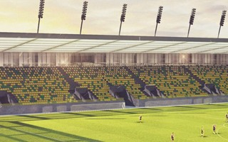Katowice: GieKSa leci, ale stadion ma być