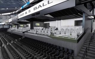 Las Vegas: Dodadzą lóż, by gościć Super Bowl