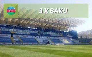 Nowe stadiony: Baku, Baku, Baku