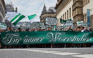Brema: Kibice protestują przeciwko zmianie nazwy Weserstadionu