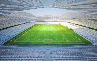 Gruzja: Stadion w Batumi na ostatniej prostej