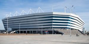Kaliningrad: Zapadlisko wokół stadionu, minister zwolniony z aresztu