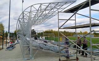 Lubelskie: Stadion w Lubartowie prawie gotowy