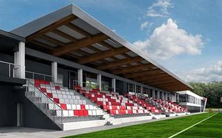 Kraków: Wpadka na budowie stadionu treningowego Cracovii