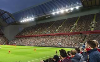 Liverpool: The Reds pokazują nową trybunę