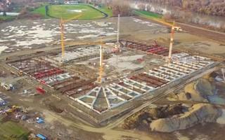 Chorwacja: Stadion w Osijeku wychodzi z ziemi