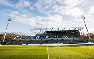 Niemcy: Pierwsza nowa trybuna w Darmstadt prawie gotowa