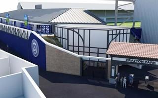 Anglia: Portsmouth pokazuje pierwszy etap przebudowy