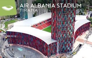 Nowy stadion: Włoska perełka w stolicy Albanii