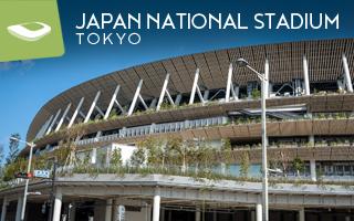 Nowy stadion: Drewniany Olimpijczyk w Tokio