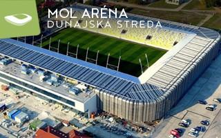 Nowy stadion: MOL Aréna w Dunajskiej Stredzie