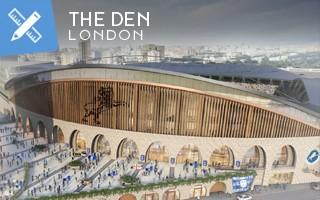 Nowy projekt: Millwall pokazuje nowy Den