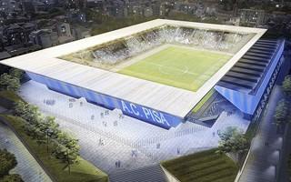 Włochy: Stadion w Pizie idzie naprzód