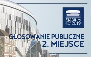 Stadium of the Year: 2. Miejsce Publiczności – Tottenham Hotspur Stadium