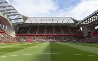 Liverpool: Rozbudowa Anfield co najmniej rok później