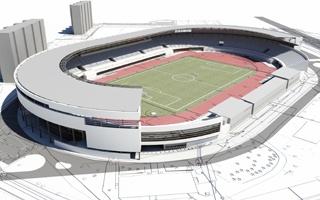 Rzeszów: Stadion Resovii po nowemu