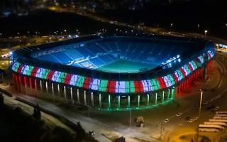 Jerozolima: Teddy Stadium pokazuje imponującą iluminację