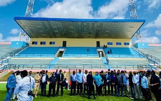 Somalia: Stadion narodowy otwarty po wojnach i natychmiast ostrzelany