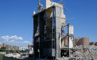 Madryt: Runął ostatni kawałek Vicente Calderón