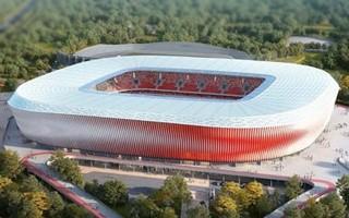 Mińsk: Nowy stadion narodowy oficjalnie w budowie