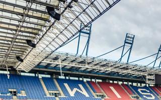 Kraków: Dach na stadionie Wisły przecieka