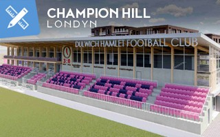 Nowy projekt: Nowe wzgórze mistrzów w Londynie