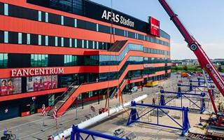 Alkmaar: Zaczął się montaż wielkiej kratownicy
