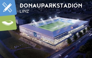 Nowy stadion i projekt: Niebiesko-biały kompakt z widokiem na Dunaj