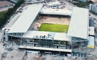Teksas: Stadion w Austin nabiera kształtu po instalacji dachu, murawy oraz krzesełek