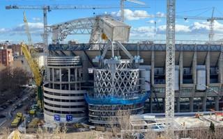 Madryt: Postępy w budowie Santiago Bernabéu