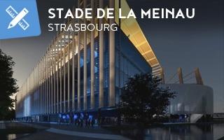 Nowy projekt: Stade de la Meinau kryty kadłubami samolotów!
