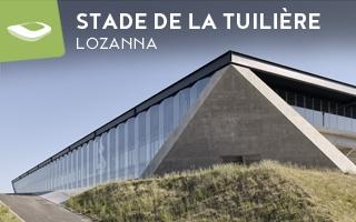 Nowy stadion: Podcięte narożniki Tuilière w Lozannie