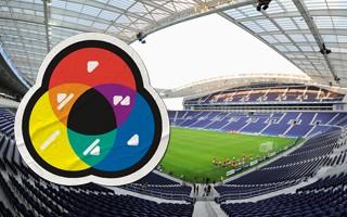 Portugalia: Estádio do Dragão dla osób z daltonizmem