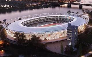 Budapeszt: Narodowy Stadion Lekkoatletyczny od budowniczych Puskás Arény