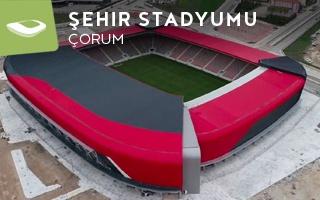 Nowy stadion: Nowe czerwone serce Çorum