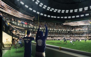 USA: New Orleans Saints ulepszają Superdome, licząc na pozyskanie nowego sponsora