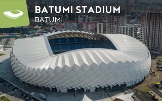 Nowy stadion: Roztańczone fasady w Batumi