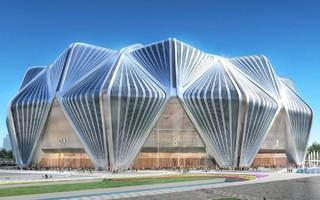 Chiny: 18 żurawi buduje największy stadion klubowy