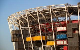 Katar: Składany stadion na ostatniej prostej