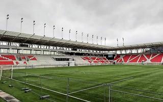 Słowacja: Nowy stadion w Trenczynie w cieniu tysiącletniego zamku